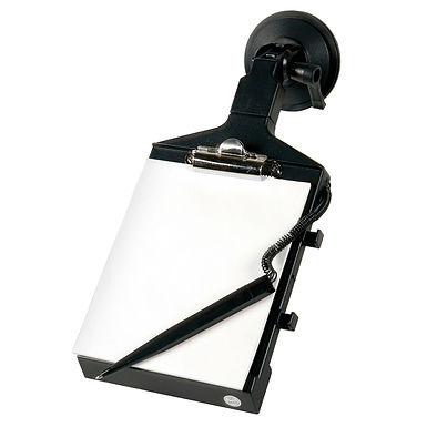 Zápisník s propiskou na přísavku 130x150 mm - LAMPA