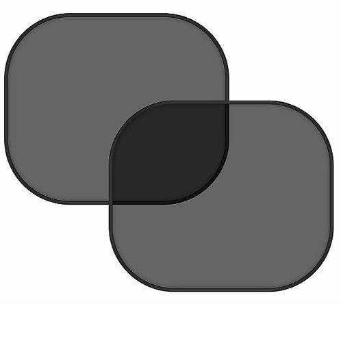 Clona sluneční na boční okno černá 2 přísavky - COMPASS