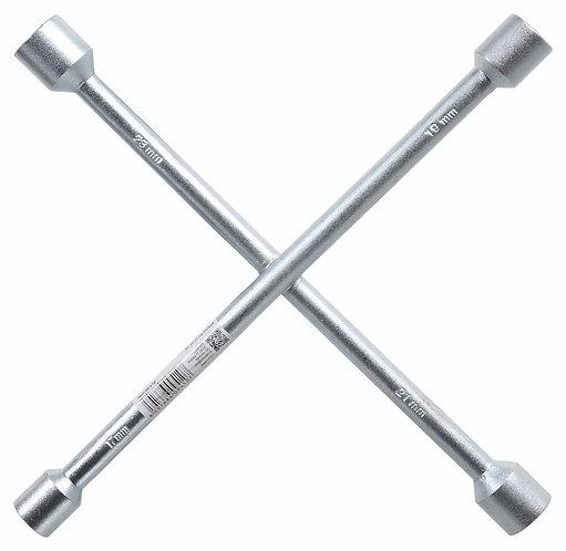 Klíč na kola křížový 17-19-21-23 - COMPASS