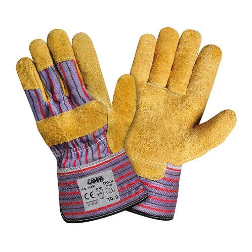 Kožené pracovní rukavice Lampa