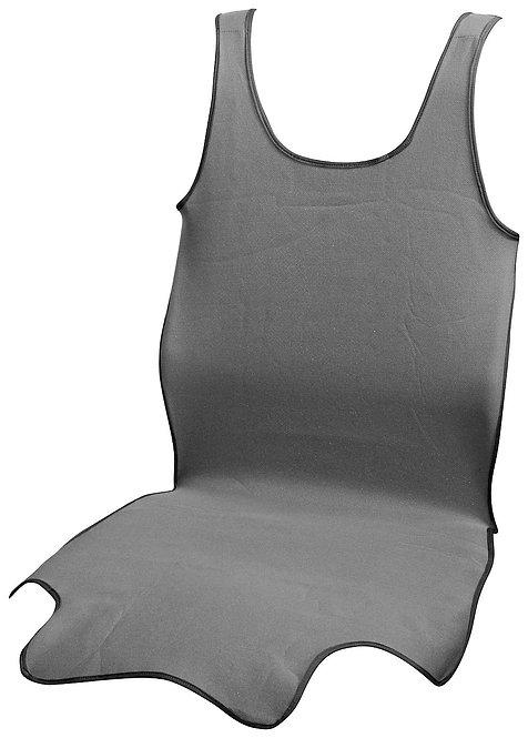 Potah sedadla TRIKO SOFT přední 1ks šedý - COMPASS