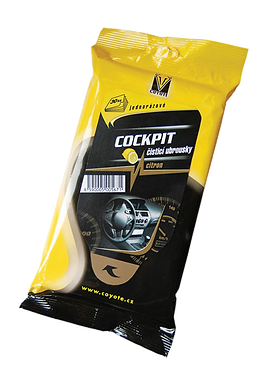 Coyote Ubrousky Cockpit citron 30ks