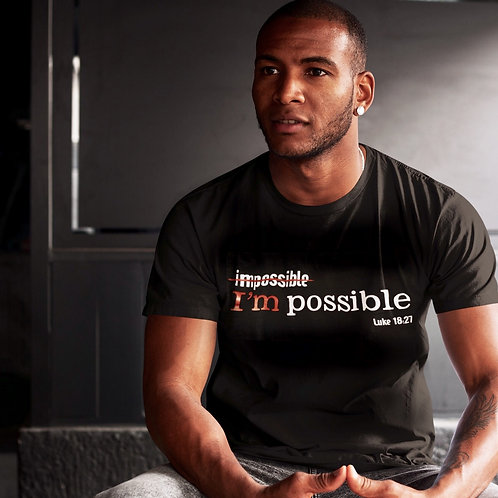 I'm Possible Tee (No Bling)