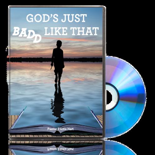 DVD - God's Just Badd Like That