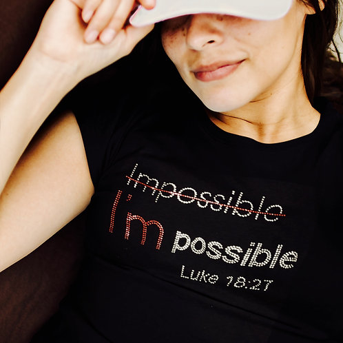 I'm Possible Tee (Bling)