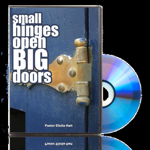 DVD - Small Hinges Open Big Doors