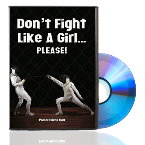 DVD - Don't Fight Like a Girl PLEASE