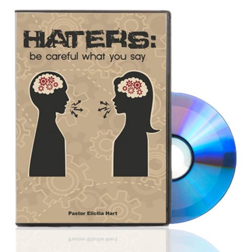 DVD - Haters Be Careful What You Say