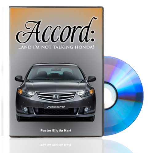 DVD - Accord... and I'm Not Talking Honda