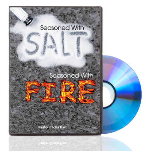 DVD - Seasoned With Salt and With Fire