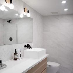 custom washroom bathroom ensuite interior design architecture