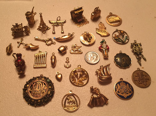 Miniature Gold Charms