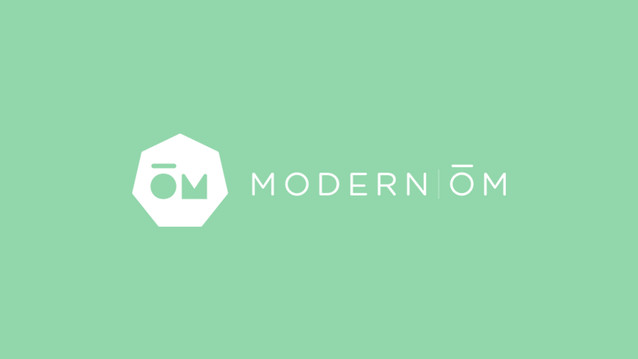 Modern OM Business Card