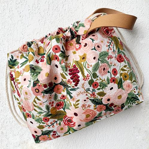 Bolso Asa de Cuero- Botánica Rose