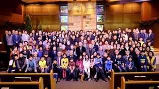 교회창립 3주년 기념사진 (1/5/20)