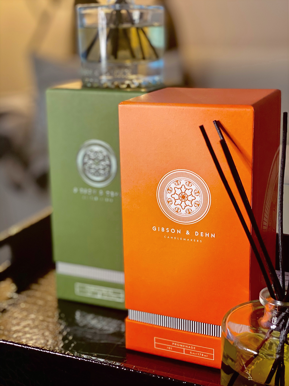 Gibson and Dehn Promenade and Norway Spruce Oil Diffusers