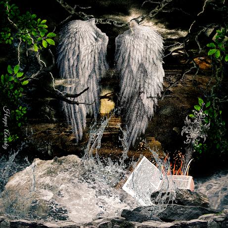 Even Angels Need  A Break