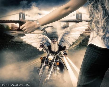 God Rides A Harley
