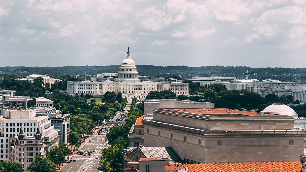 downtown Washington, DC