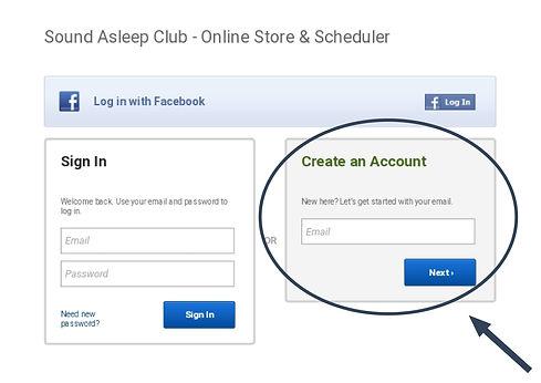 Create an account arrow-2.jpg