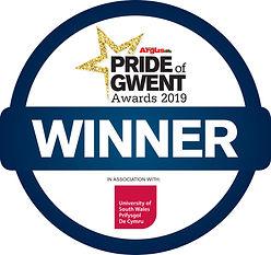 pride of gwent awards 2019 winner logo.j