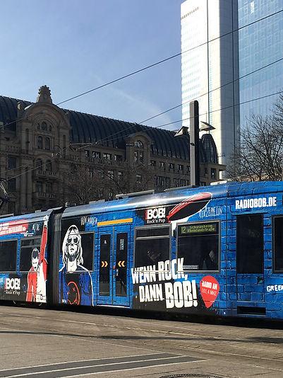 Straßenbahn, Frankfurt a.M., Branding