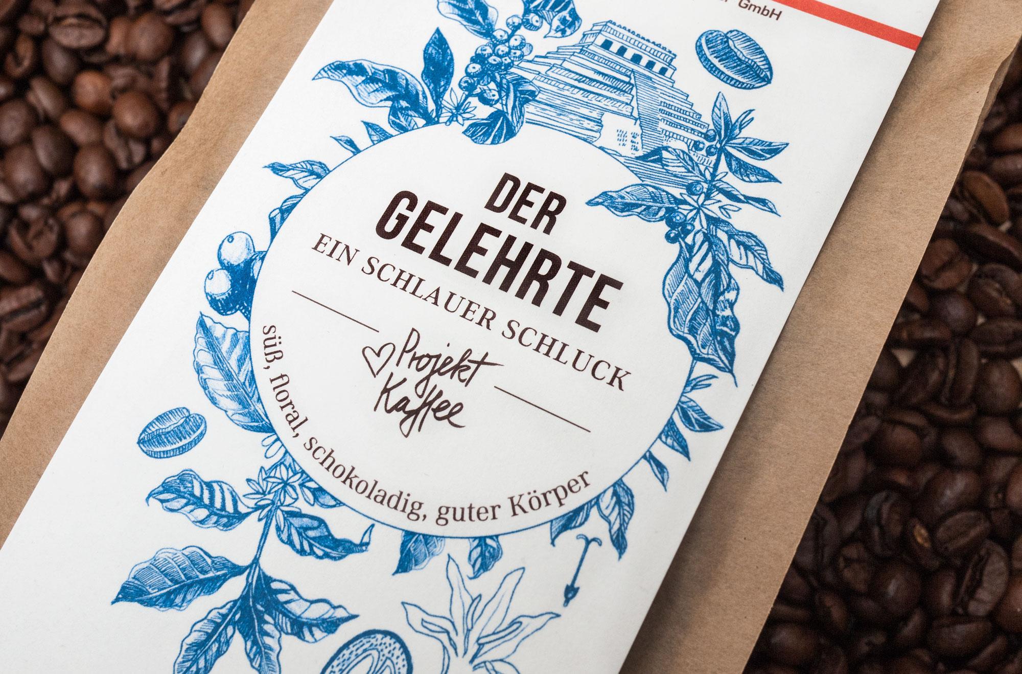 Kaffee Design Der Gelehrte