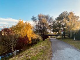 Fahrradweg Kleine Tulln