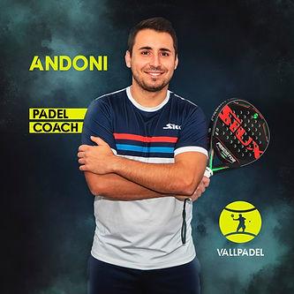 Padel Trainer Andoni Padel Tulln