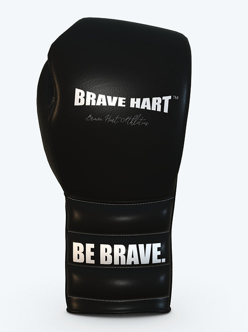 BH-8183-TM Leather Laced Training Gloves