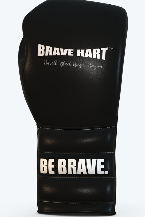 """BH-8183-TM Leather Laced Training Gloves  """"Travell Mazion"""" Edition"""