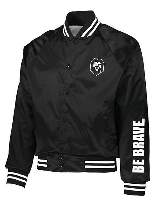 Brave Hart Lion Head Baseball Jacket