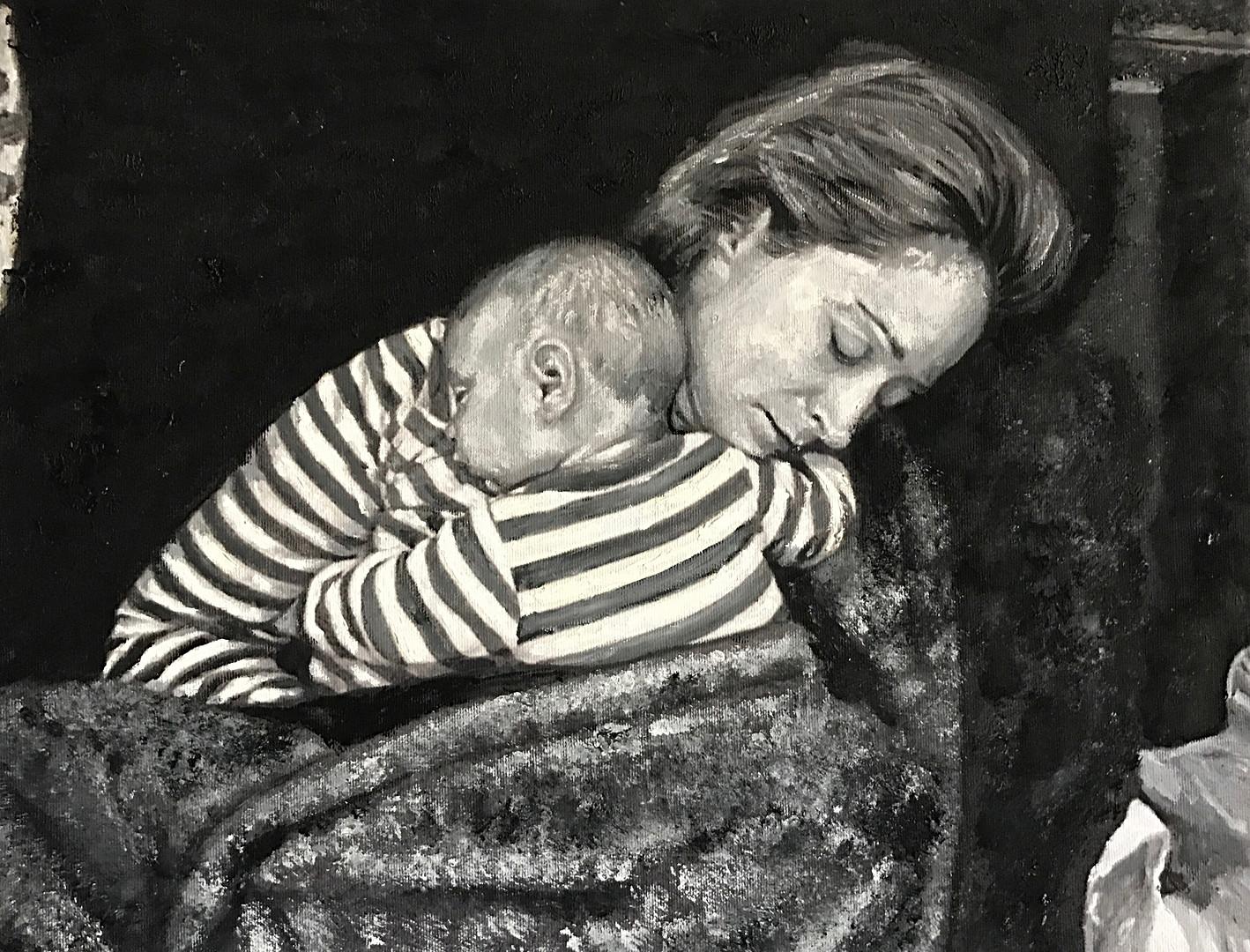 Diana and Luke Sleeping