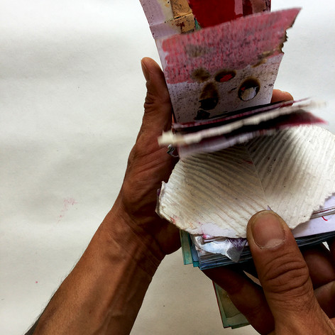 libro artista_manos (Colaboración con Lola Alba)