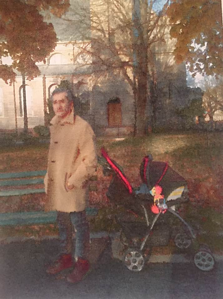 Self Portrait with Stroller
