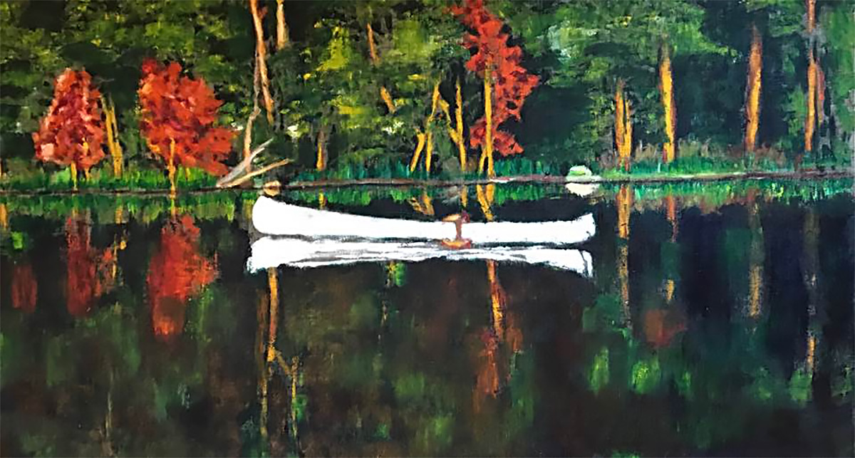 THE WHITE CANOE