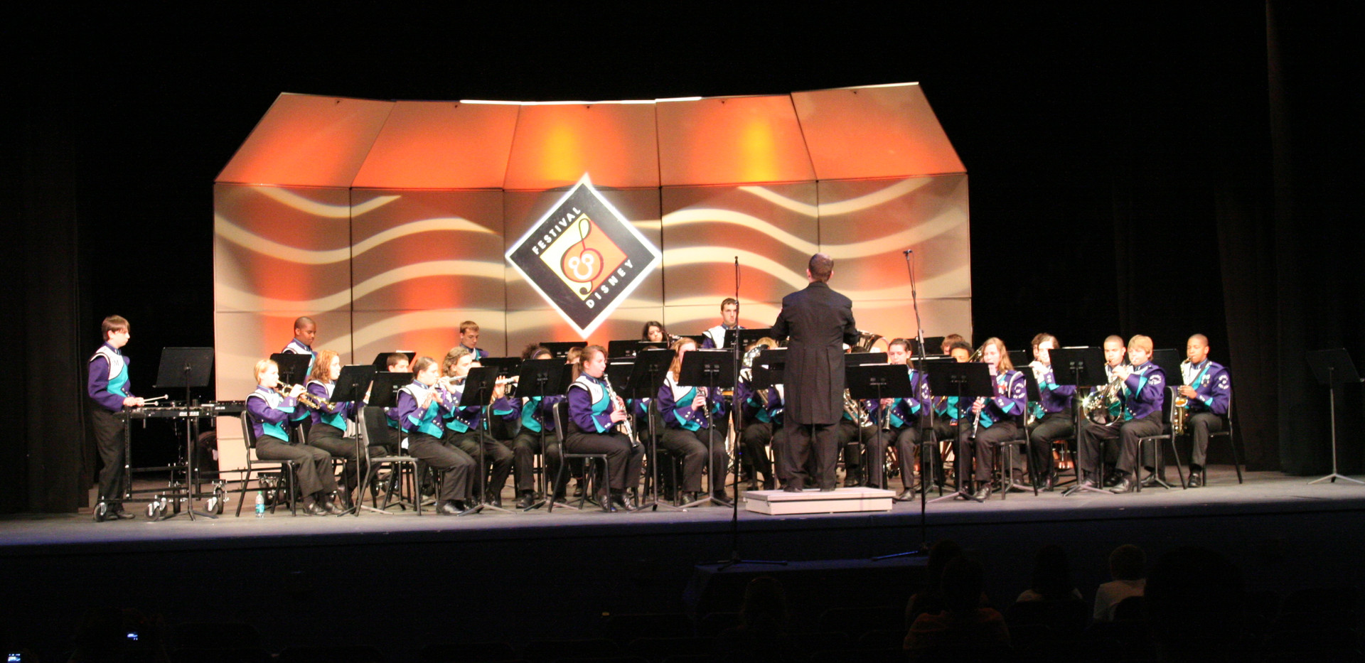 2015 Cox Mill Symphonic Wind Ensemble at Hollywood Studios