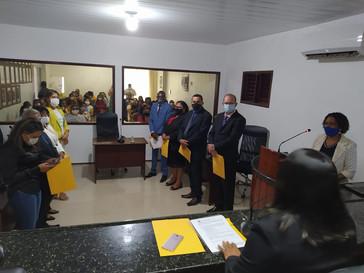 Vereadores realizam sessão para a eleição da Mesa Diretora para o biênio 2021/2022