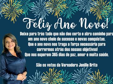 Vereadora Jenille Brito envia mensagem ao povo vimarense