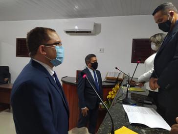 Prefeito e vice-prefeito de Guimarães são empossados pela Câmara de Vereadores