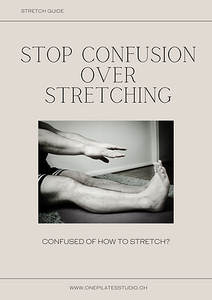 Free Stretching Guide Pilates