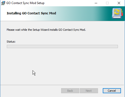 sync Gmail Contacts with outlook