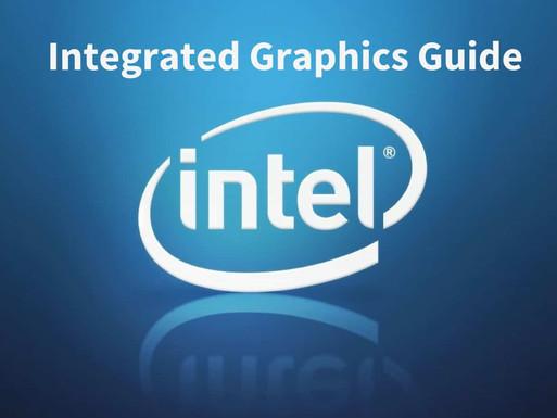 אינטעל גרעפיקס קארד'ס.  Intel graphics