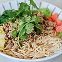 Sour Bean Minced Pork Rice Noodle