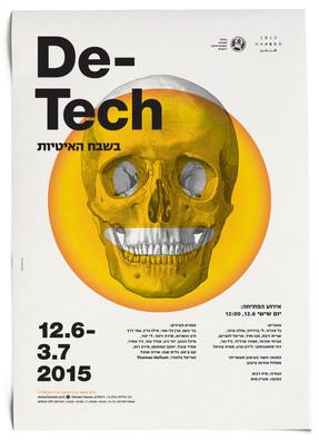 De-Tech Exhibition poster