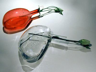 Horizontal Vases