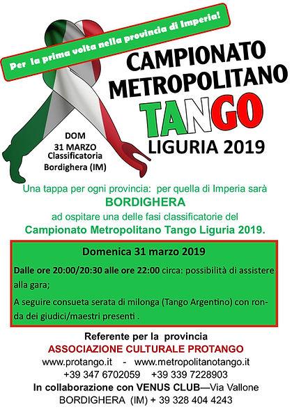 Campionato Metropolitano di Tango Argent