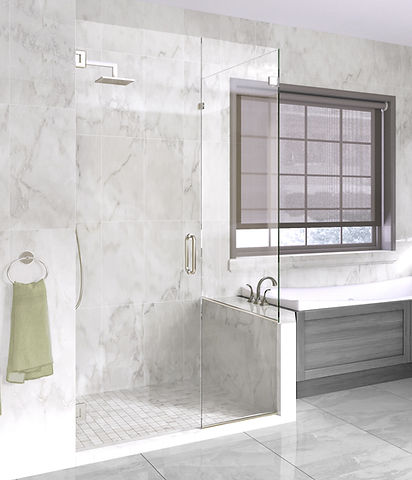 Frameless shower door birmingham alabama