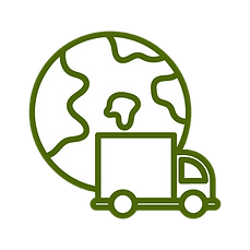 Green worldwide delivery vector.png