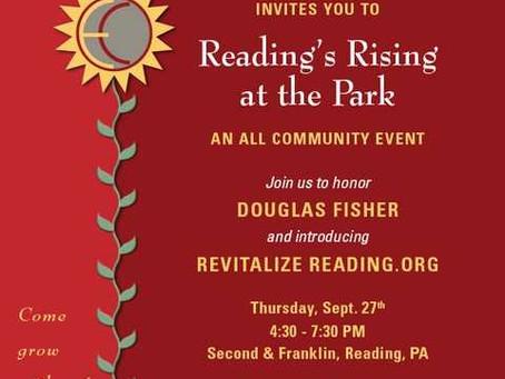 Reading's Rising at the Park
